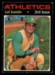1971 O-Pee-Chee #285  Sal Bando  Front Thumbnail