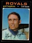 1971 O-Pee-Chee #269  Gail Hopkins  Front Thumbnail