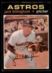 1971 O-Pee-Chee #162  Jack Billingham  Front Thumbnail
