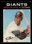 1971 O-Pee-Chee #50  Willie McCovey  Front Thumbnail