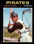 1971 O-Pee-Chee #47  Johnny Jeter  Front Thumbnail