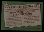 1976 Topps Traded #99 T Lee Lacy  Back Thumbnail