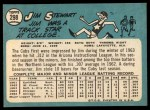 1965 Topps #298  Jim Stewart  Back Thumbnail