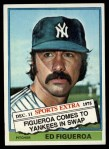1976 Topps Traded #27 T Ed Figueroa  Front Thumbnail