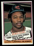 1976 Topps Traded #127 T Larvell Blanks  Front Thumbnail