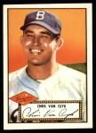 1952 Topps REPRINT #53  Chris Van Cuyk  Front Thumbnail