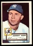 1952 Topps REPRINT #214  Johnny Hopp  Front Thumbnail
