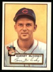 1952 Topps REPRINT #300  Barney McCosky  Front Thumbnail