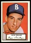 1952 Topps REPRINT #7  Wayne Terwilliger  Front Thumbnail