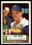 1952 Topps REPRINT #345  Sammy White  Front Thumbnail