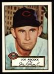 1952 Topps REPRINT #347  Joe Adcock  Front Thumbnail