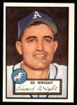 1952 Topps REPRINT #368  Ed Wright  Front Thumbnail