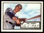 1952 Topps REPRINT #359  Dee Fondy  Front Thumbnail