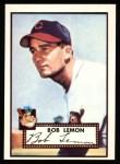 1952 Topps REPRINT #268  Bob Lemon  Front Thumbnail