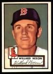 1952 Topps REPRINT #269  Willard Nixon  Front Thumbnail