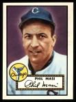 1952 Topps REPRINT #283  Phil Masi  Front Thumbnail