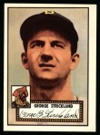 1952 Topps REPRINT #197  George Strickland  Front Thumbnail