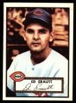 1952 Topps REPRINT #171  Ed Erautt  Front Thumbnail