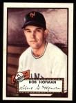 1952 Topps REPRINT #371  Bobby Hofman  Front Thumbnail