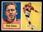 1957 Topps #78  Clyde Conner  Front Thumbnail