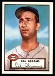 1952 Topps REPRINT #350  Cal Abrams  Front Thumbnail
