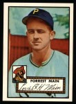 1952 Topps REPRINT #397  Forrest Main  Front Thumbnail