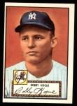 1952 Topps REPRINT #9  Robert Hogue  Front Thumbnail