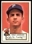 1952 Topps REPRINT #87  Dale Coogan  Front Thumbnail