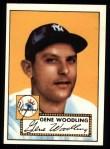 1952 Topps REPRINT #99  Gene Woodling  Front Thumbnail