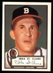 1952 Topps REPRINT #393  Ebba St.Claire  Front Thumbnail