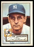 1952 Topps Reprints #206  Joe Ostrowski  Front Thumbnail