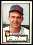 1952 Topps Reprints #270  Lou Brissie  Front Thumbnail
