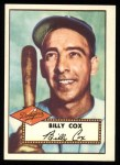 1952 Topps REPRINT #232  Billy Cox  Front Thumbnail