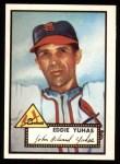 1952 Topps REPRINT #386  Ed Yuhas  Front Thumbnail