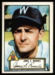 1952 Topps REPRINT #2  Pete Runnels  Front Thumbnail