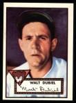 1952 Topps REPRINT #164  Walt Dubiel  Front Thumbnail