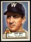 1952 Topps REPRINT #94  Sam Mele  Front Thumbnail