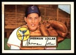 1952 Topps REPRINT #117  Sherm Lollar  Front Thumbnail