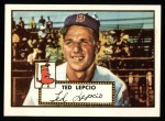 1952 Topps REPRINT #335  Ted Lepcio  Front Thumbnail