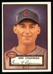 1952 Topps REPRINT #391  Ben Chapman  Front Thumbnail