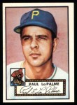 1952 Topps Reprints #166  Paul LaPalme  Front Thumbnail