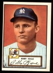 1952 Topps REPRINT #9  Robert Hogue  Front Thumbnail