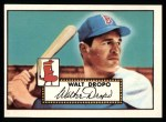 1952 Topps Reprints #235  Walt Dropo  Front Thumbnail