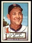 1952 Topps REPRINT #374  John Benton  Front Thumbnail