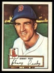 1952 Topps REPRINT #15  Johnny Pesky  Front Thumbnail