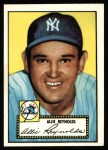 1952 Topps REPRINT #67  Allie Reynolds  Front Thumbnail