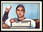 1952 Topps REPRINT #297  Andy Seminick  Front Thumbnail