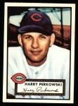 1952 Topps REPRINT #142  Harry Perkowski  Front Thumbnail