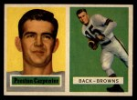 1957 Topps #93  Preston Carpenter  Front Thumbnail