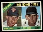 1966 Topps #11   -  Brant Alyea / Pete Craig Senators Rookies Front Thumbnail